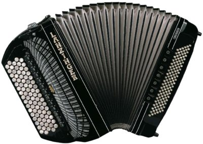 Knopfgriff-Akkordeons mit Cassotto